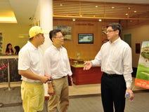 Business man meeting Royalty Free Stock Image