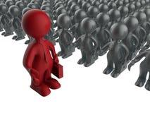 Business man mentor Stock Image