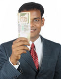 business man with money Royalty Free Stock Images