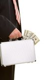 Business man and money Stock Image