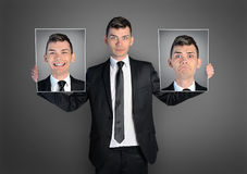 Business man mood Stock Photo