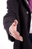 Business man offering handshake Royalty Free Stock Image