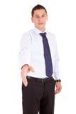 Business man offering handshake Stock Image