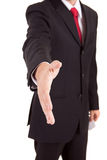 Business man offering handshake Royalty Free Stock Photography
