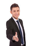 Business man offering a handshake Stock Photo