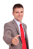 Business man offering handshake Stock Photo