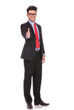 Business man offers handshake Royalty Free Stock Photo