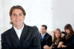 Business man in an office Stock Photography