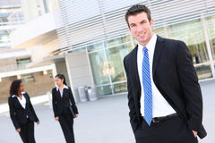 Business Man at Office Stock Photography