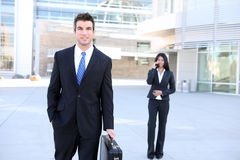 Business Man at Office Stock Images