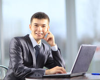 Business man at office Stock Photo