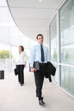 Business Man at Office Building Royalty Free Stock Photo