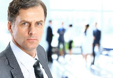 Business man at the office Royalty Free Stock Photography