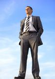 Business man outdoor Stock Photography