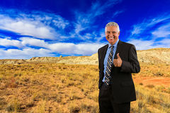 Business Man Outdoors Stock Images