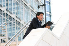 Business man - pensive ard Stock Images
