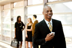 Business Man with Phone Stock Images
