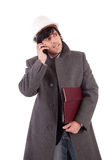 Business man at phone Stock Photo