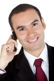 Business man on the phone Royalty Free Stock Photos