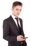 Business man at the phone Stock Photography
