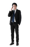 A business man on the phone Stock Image