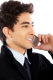 Business man on the phone Royalty Free Stock Photography