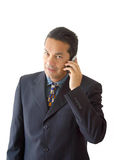 Business man on the phone - je Royalty Free Stock Images