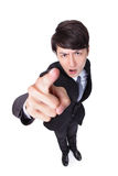 Business man point to you Stock Photography