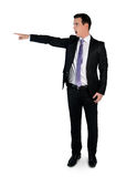Business man pointing angry Royalty Free Stock Photo