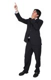 Business man pointing - full body Stock Photos