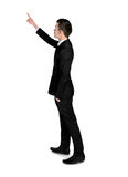 Business man pointing something Royalty Free Stock Photo