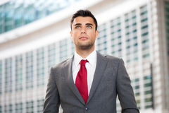 Business man portrait Royalty Free Stock Photography