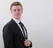 Business man portrait Royalty Free Stock Images