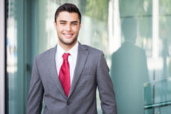 Business man portrait Royalty Free Stock Photos