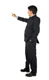Business man presenting - 2 Royalty Free Stock Image