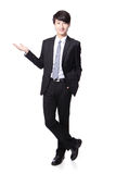Business man presenting Stock Image