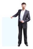 Business man presenting Stock Photos