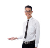 Business man presenting Royalty Free Stock Images