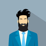 Business Man Profile Icon Male Avatar Hipster Stock Photos