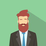Business Man Profile Icon Male Avatar Hipster Royalty Free Stock Image