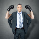 Business man protection Royalty Free Stock Photos
