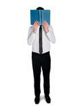 Business man read book Royalty Free Stock Photo