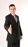 Business man is ready for handshake Stock Photography