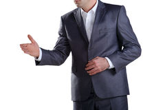 Business man ready for a handshake 2 Stock Photo