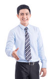 Business man Ready to Shake Hands Royalty Free Stock Photography