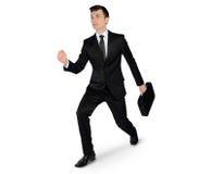 Business man run away Royalty Free Stock Images
