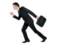 Business man run Stock Image