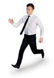 Business man run Stock Photos