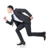 Business man running Royalty Free Stock Photo
