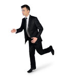 Business man running away Stock Photo